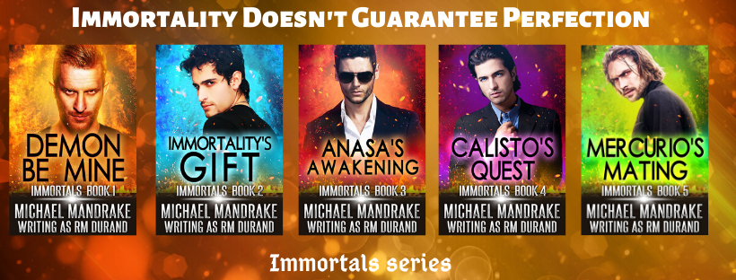 Immortals Series is Updated!